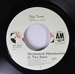Orchestral Manoeuvres in the Dark 45 RPM This Town / (Forever) Live and Die