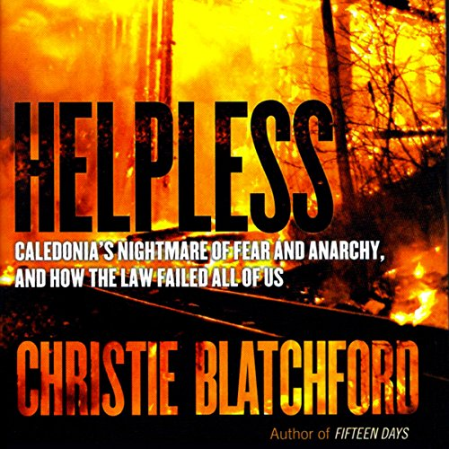 Helpless audiobook cover art