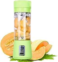 Smoothie Maker Blender Shake Slow Juicer Mini Portable Usb Rechargeable Electric Fruit Juicer Machine,Green