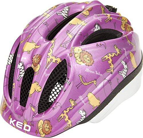 KED Meggy II Trend Helmet Kids Pink Animals 2018 Fietshelm