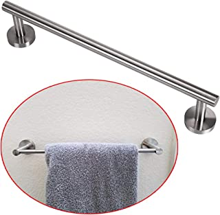 Sumnacon 16 inch Towel Bar Towel Rod with Screws,Solid Wall-Mounted Stainless Steel Towel Rack Hanger Holder Organizer for Bathroom Kitchen, Silver