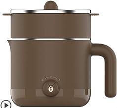 XIYUN 220 V mini elektrische multicooker draagbaar elektrische rijstkoker hotpot kookmachine elektrische Hot Pot bruin