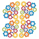 Gear Shaped Cutouts - 48 Pieces - Educational and Learning Activities for Kids
