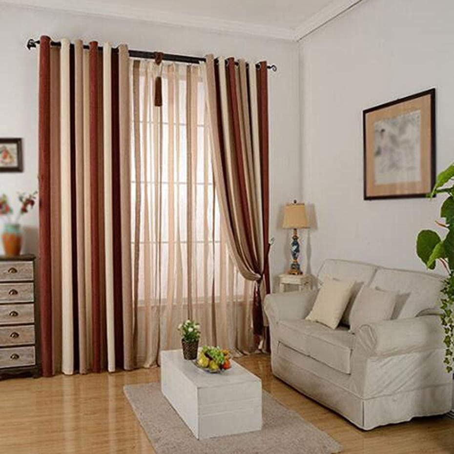 不実シンク低下カーテンは、遮光カーテンを厚くしますリビングルームベッドルームのカーテンパンチ2個@B_300x270cmx2