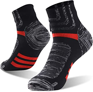 100% Waterproof Socks, Unisex Cycling/Hunting/Fishing/Running Ankle/Mid Calf Socks