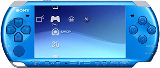 Sony Playstation Portable (PSP) 3000 Series Handheld Gaming Console System – Blue (Renewed)