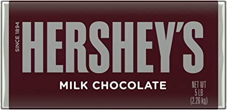 HERSHEY'S 5 Pound Chocolate Candy Bar Gift