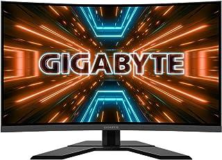 "GIGABYTE G32QC Curved 31.5"" VA 1500R QHD (2560x1440) 165Hz 1ms FreeSync Gaming Monitor, Black"