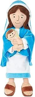 Hallmark Mother Mary Holding Baby Jesus Stuffed Doll, 12.75