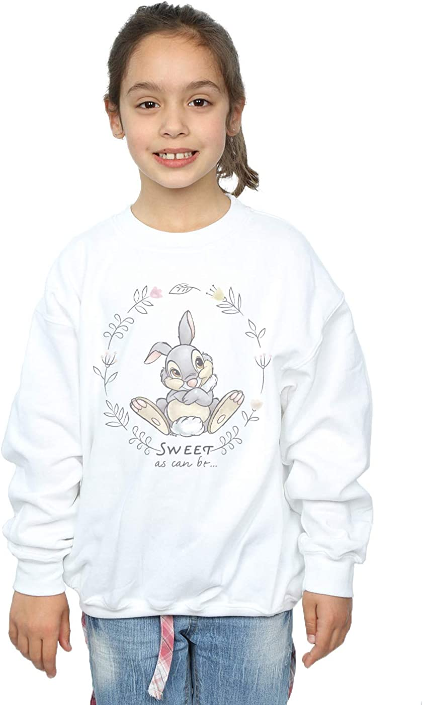 Disney Fille Bambi Thumper Sweet As Can Be Sweat-Shirt