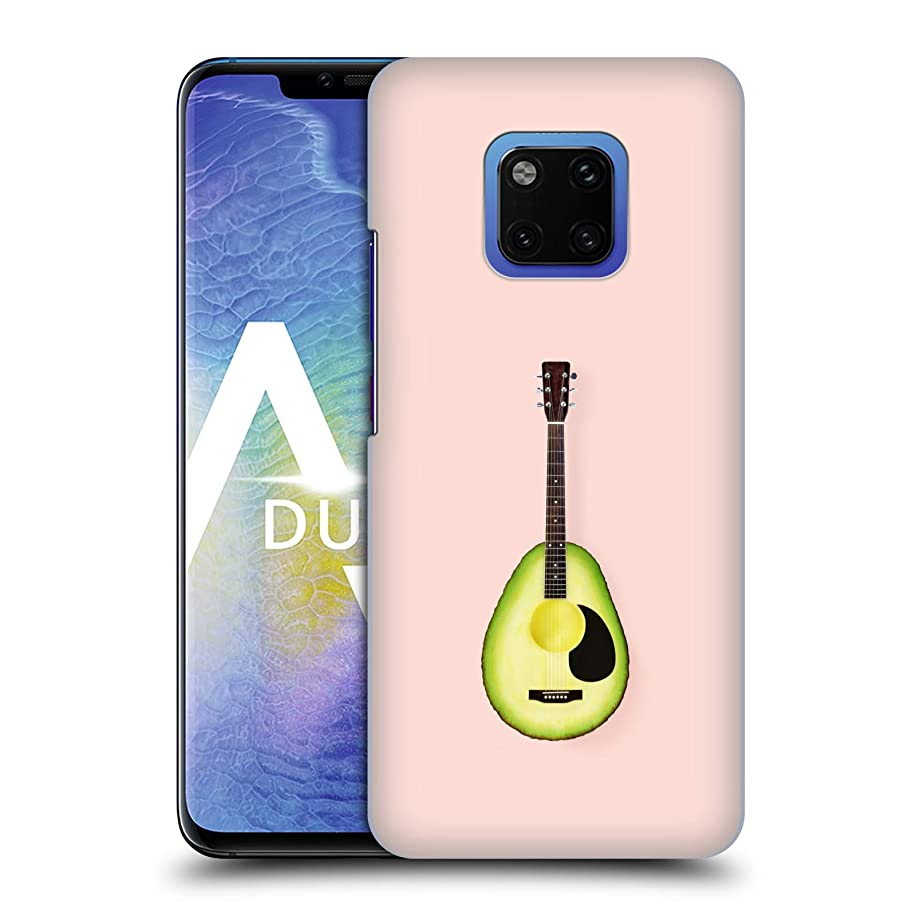 Official Paul Fuentes Avocado Guitar Pastels Hard Back Case Compatible for Huawei Mate 20 Pro