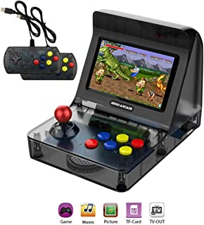 WFGZQ Portable Arcade Game Console, Mini Handheld Nostalgic Game Console 3000 Classic Arcade Video Game with 4.3 Inch Joystick, Children's Birthday Gift