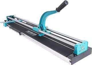 Happybuy 40 Inch Manual Tile Cutter Professional Porcelain Ceramic Floor Tile Cutter Machine Adjustable Laser Guide for Precision Cutting