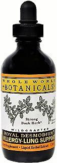 Whole World Botanicals - Royal Desmodium Allergy-Lung Support - 1 oz (30 ml)