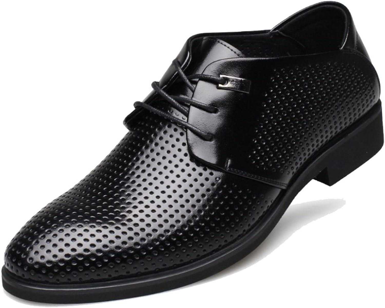 MERRYHE Mnner Aushhlen Gentleman Derby Lace-Up Derby Echtes Leder Schuhe Spitze-Toe Brogues Lace Ups Für Mnner Business Hochzeit Abend Arbeit Party