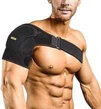 Compressie schouderbrace Schoudersteunhuls voor letselpreventie, ontwricht AC-gewricht, bevroren schouderpijn, artritische...