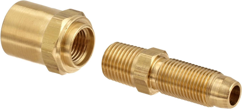 Dixon BN32RU62 Direct stock discount Brass Reusable Fitting Recommendation Adapter NPTF 4