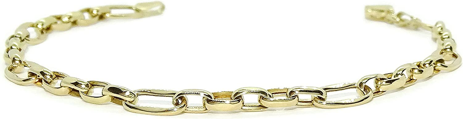 Never say 18K Gold Chain Bang Teens Links Women Max 60% OFF Bracelet Financial sales sale