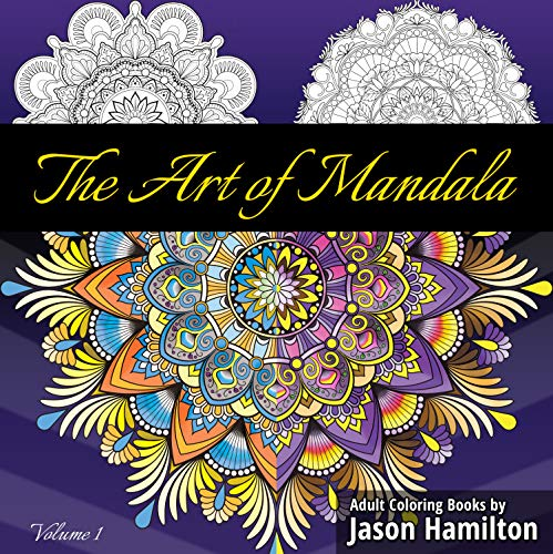 The Art of Mandala: Adult Coloring Book