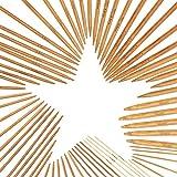 ZHENA 75 Pezzi Ferri da Maglia da 20 cm, Ferri Doppia Punta in bambù per Lavorare a Maglia Calze Guanti Cappelli e Sciarpe - 2 mm a 10 mm