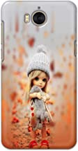 Printfidaa Doll Cute Girl Amazing Beauty Little Kid Child Playing Printed Designer Hard Back Case Cover for Huawei Y6 (2017), MYA-L03/L23, L02/L22 Back Cover - BOB1591