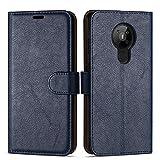 Case Collection Hochwertige Leder hülle für Nokia 5.3