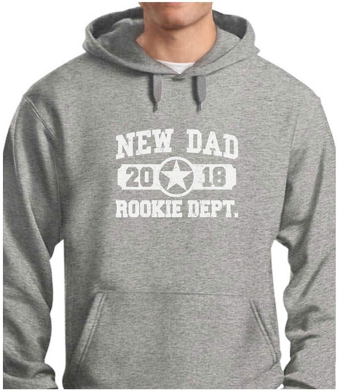 cac222e429d5 TeeStars TeeStars TeeStars - New Dad 2018 Rookie Department Gift for ...