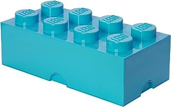 Ladrillo de almacenamiento de 8 espigas de LEGO, caja de
