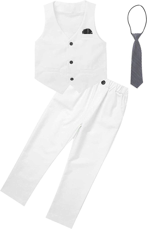 YONGHS shopping Kids Boys 3 Piece Formal Sui Dresswear Boy Suits Super sale period limited Fit Slim