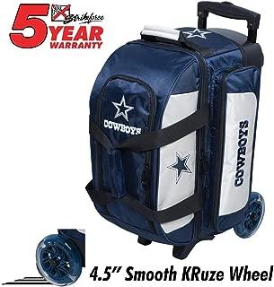 KR Strikeforce Bowling Bags Dallas Cowboys 2 Ball Roller Bowling Bag, Multi