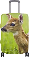 Travel Luggage Suitcase Protector Luggage Case - Sika Deer Print,Fits 29-32 Inch Luggage?