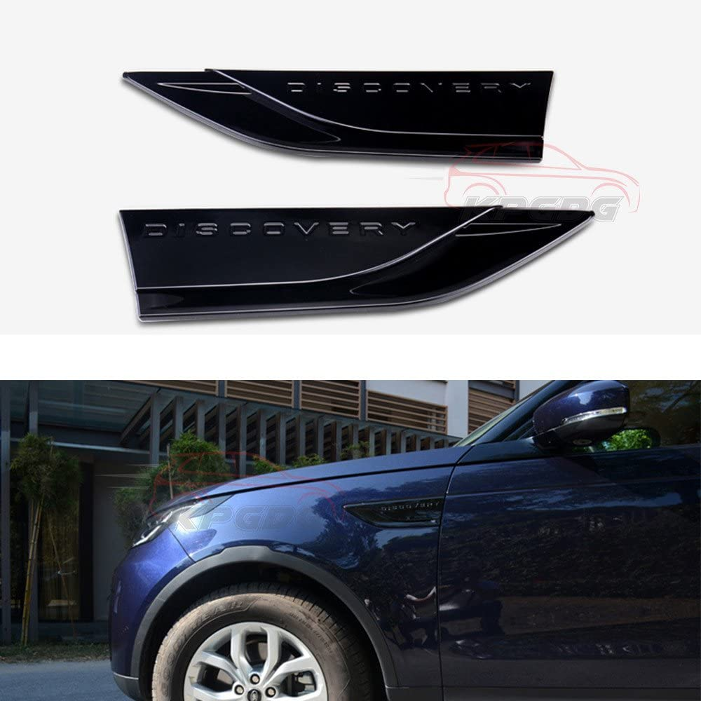 2 Pcs Fit for Land Rover Discovery 2017 ABS 5 Award-winning store 2018 2019 SEAL limited product Sid L462