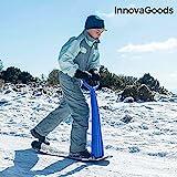 InnovaGoods- Patinete Infantil para Nieve, Multicolor (IGS IG115946)