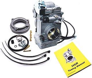 Carbman HSR42 Easy Kit Carburetor 42mm, Replacement for Evo Twin Cam 42-18 for Mikuni Carburetor HSR42 Carb