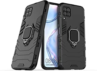 FanTing Case for Huawei P40 lite/nova 7i/nova 6 SE, Rugged and shockproof,with mobile phone holder, Cover for Huawei P40 l...