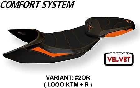 KTM Selle en différentes couleurs noir-orange//blanc noir-orange//gris et