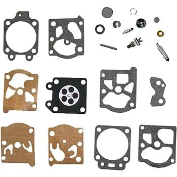 Carb Carburetor Diaphragm Gasket Needle Repair Kit For K10//K20-WAT WA//WT//Walbro