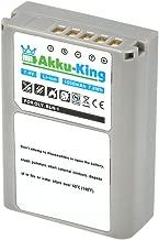 Akku-King battery for Olympus PEN E-P5  PEN-F  O-MD E-M1  E-M5  E-M5 Mark replaces BLN-1  PS-BLN1 Li-Ion 1050mAh