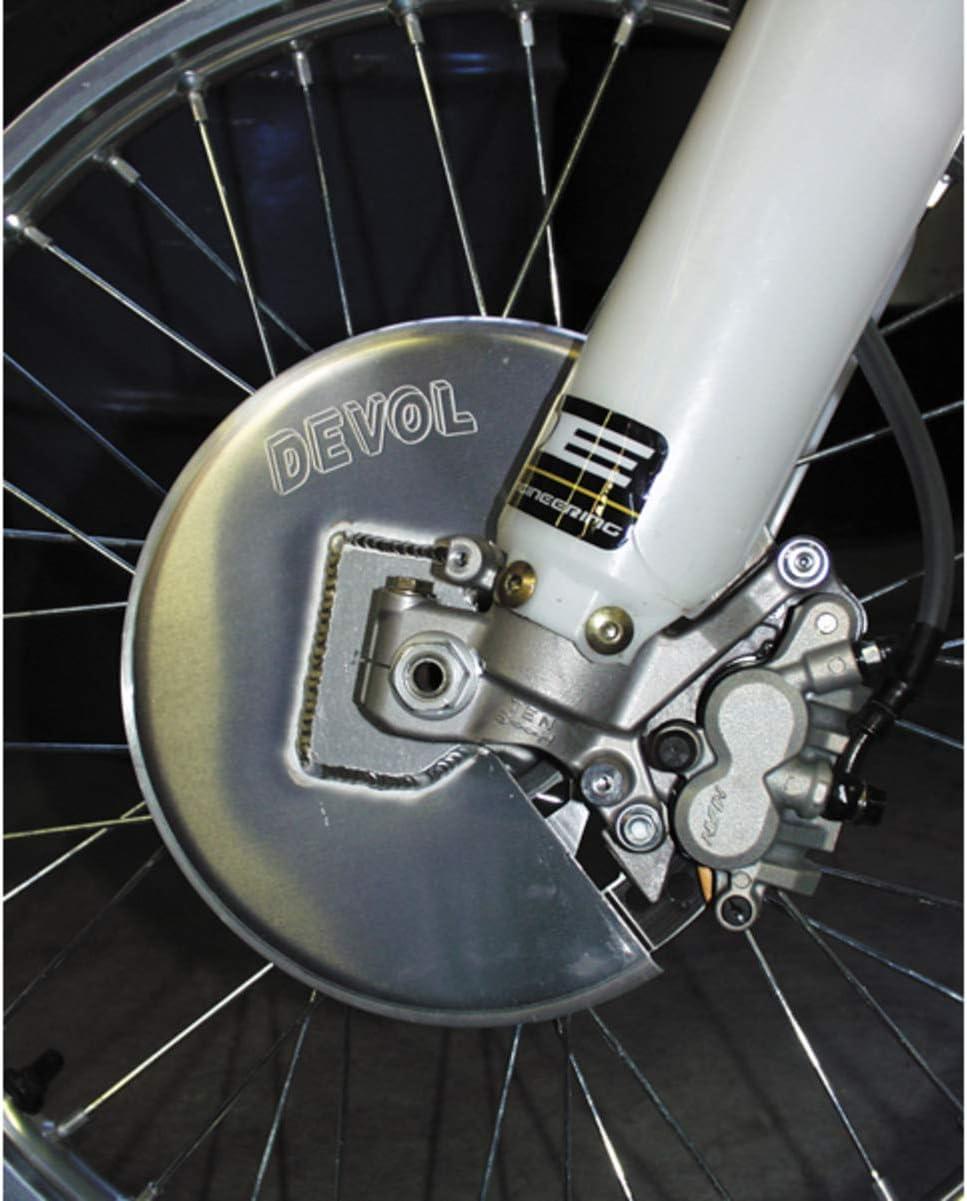 Devol Front High material Disc Guard Dedication Aluminum for Honda CRF R 250 02-10 CR X
