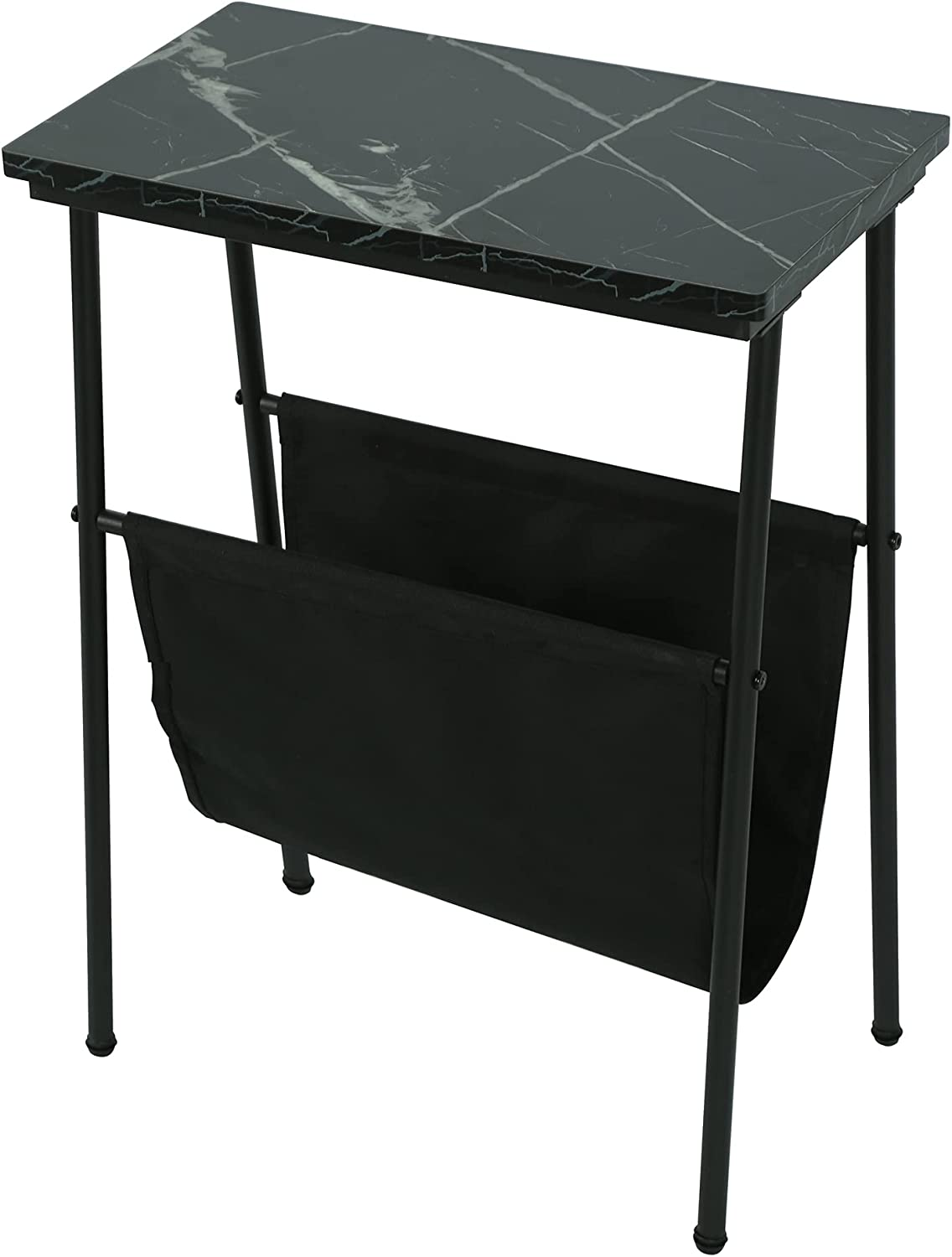 Narrow End Max 62% OFF Table with Magazine Sofa f Sling Beside Holder At the price