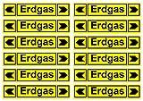 Erdgas Aufkleber