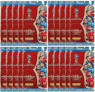Panini 2018 WORLD CUP RUSSIA Adrenalyn XL Soccer Cards. TWENTY (20) Packs. Look for Stars Like Lionel Messi, Ronaldo, Neymar, Kane, Modric, Etc.