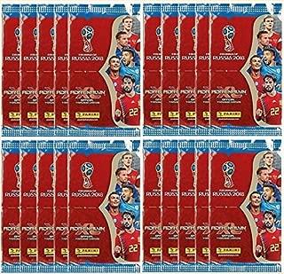 Panini 2018 WORLD CUP RUSSIA Adrenalyn XL Soccer Cards. TWENTY (20) Packs. Look for Stars Like Lionel Messi, Ronaldo, Neymar, Kane, Modric, Etc.