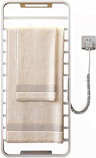 Toalleros Eléctricos Calentados, Toallero Baño Acero Inoxidable para Baño, Radiador Toallero Eléctrico Calentado Alta Potencia 140W, 3 Minutos de Calentamiento Temperatura Constante 131 ± 41 ° F