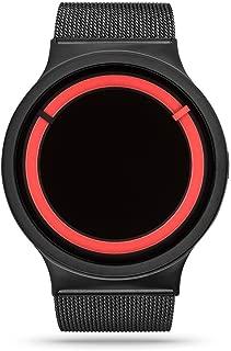 Eclipse Steel Unisex Watches Black Red
