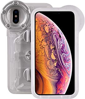 Underwater Photography Waterproof Phone Case Pouch for iPhone XSMAX Enhanced Underwater Cell Phone Dry Bag with Armband O Lens Ring Full Sealed Waterproof Case IPX8 Certified