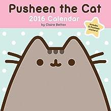 Pusheen the Cat 2016 Calendar: Includes 12 Pusheen Stickers