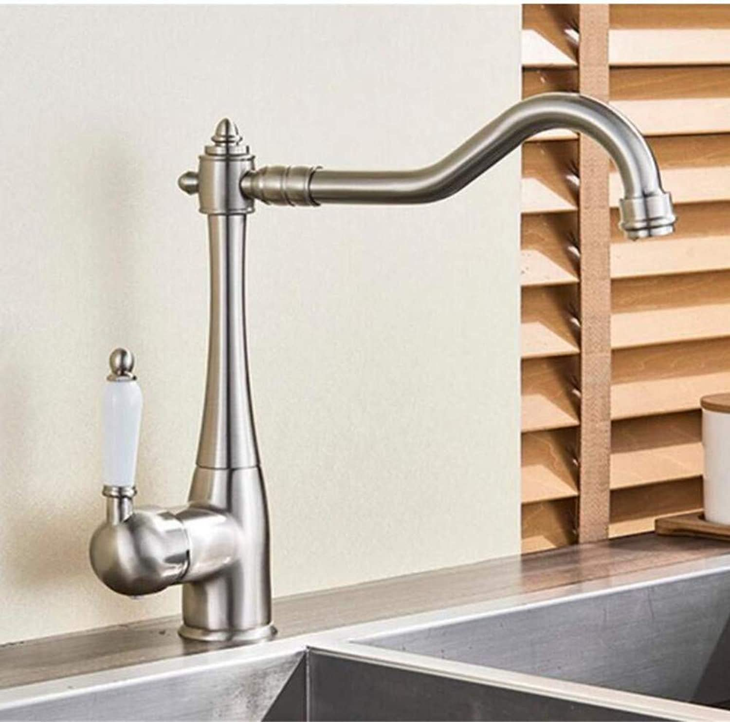 Brass Wall Faucet Chrome Brass Faucetbathroom Basin Faucet Double Handles Solid Brass Mixer Tap