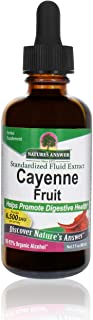 Nature's Answer Cayenne Pepper Tincture 2 Fluid Ounce | Natural Metabolism Booster | Promotes Cardiovascular Health | Help...