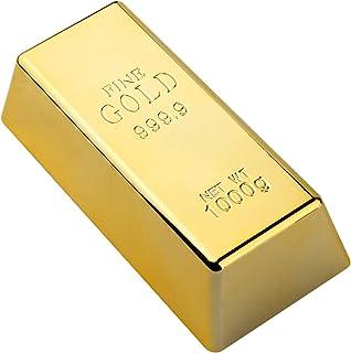 SMIN Nep Gouden Bar Bullion Deurstop/Zware Baksteen Paperweight